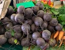 Beetroot at the market