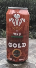 Brecon Brewing WRU Gold